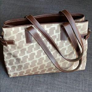 Lancel Paris Signature Shoulder Bag with Dustbag